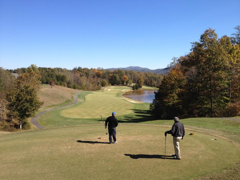 One of 3 golf courses in the valley- play year round