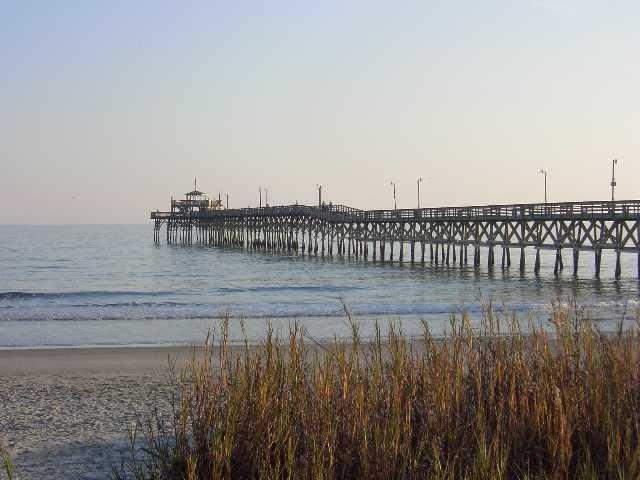 Pier from Beach