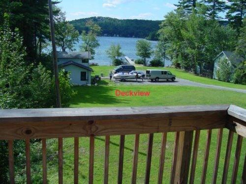 View of Lake Spofford from porch