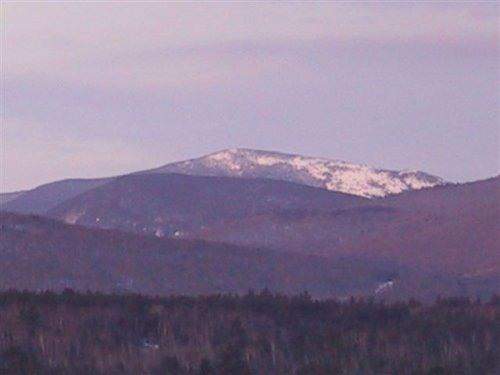 Western view of Baldpate Mountain