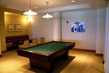 Pool Table in Club Room