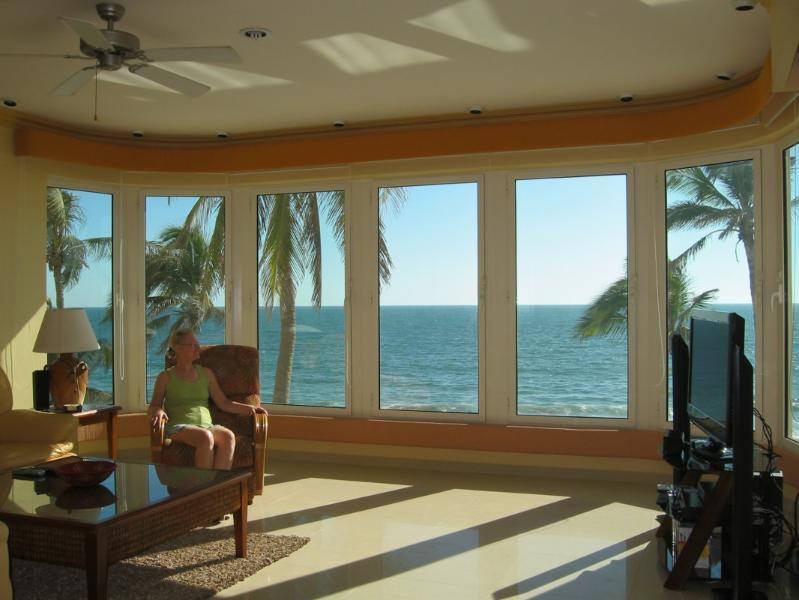 Spectacular View From Living Room & Kitchen.