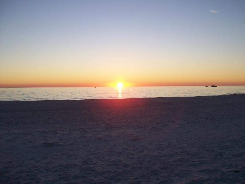 Sunset on Lido Beach