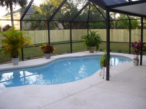 36' X 36'Screened Patio with Pool/ Solar Heated