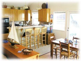 Dining room & fully equipped gourmet kitchen