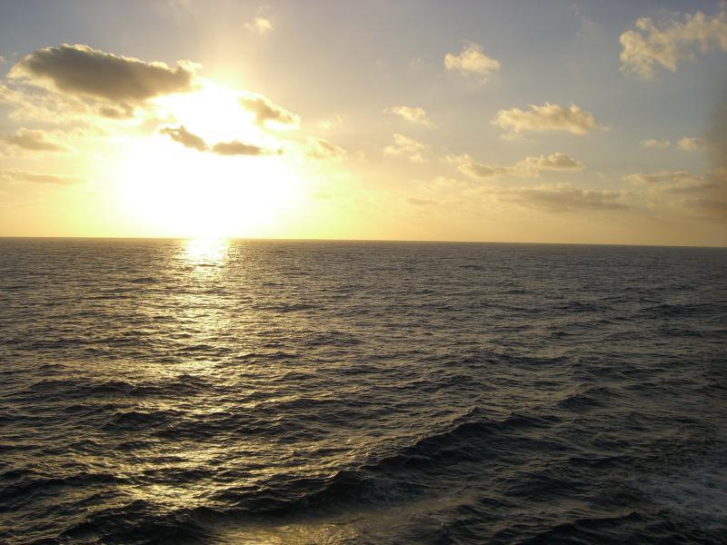 Sundown in Galveston
