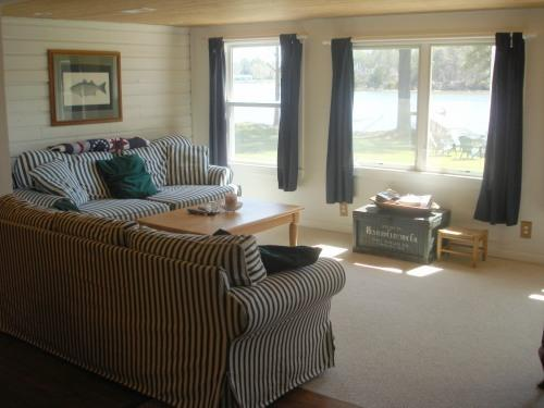 Main Waterside Living Room and Sitting Area