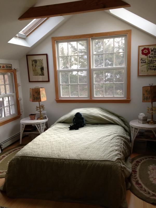 Double room with skylights