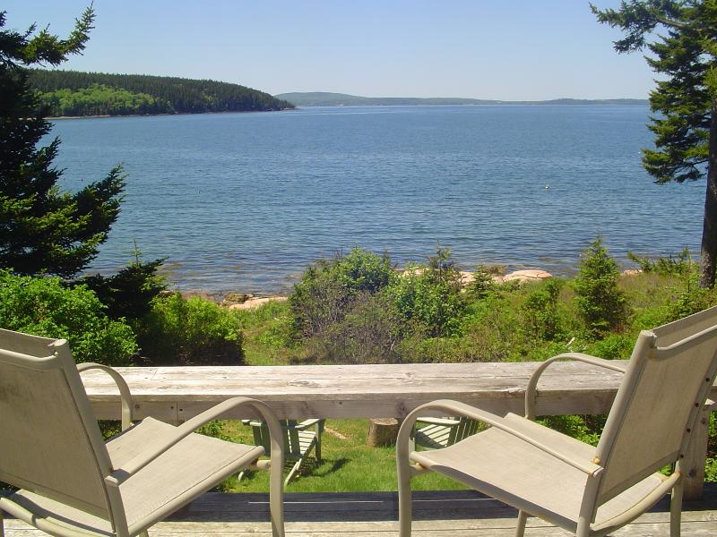 Looking Across the Bay to Bar Harbor