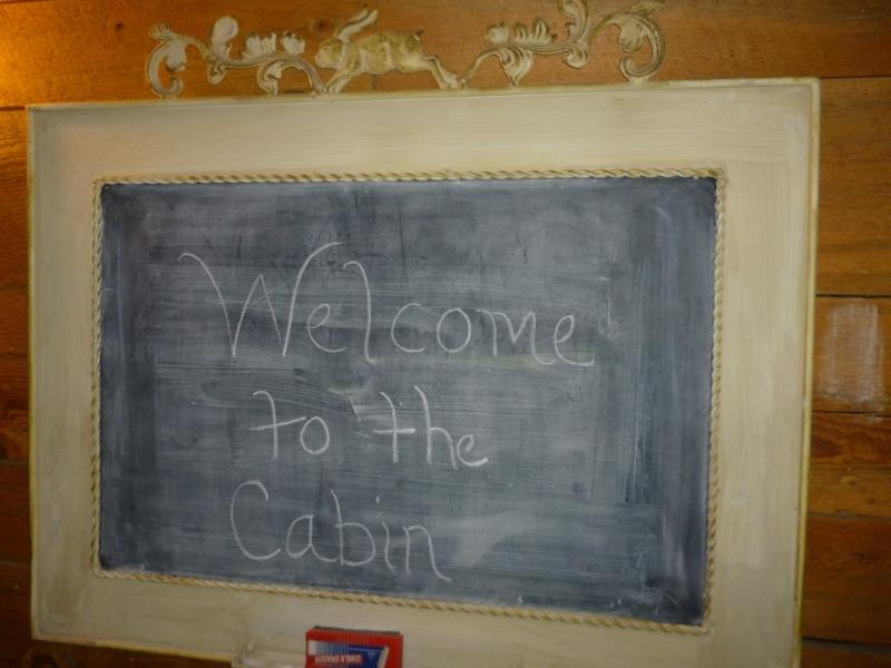 Welcome to the Cabin!!!  We hope you love it as much as our family.