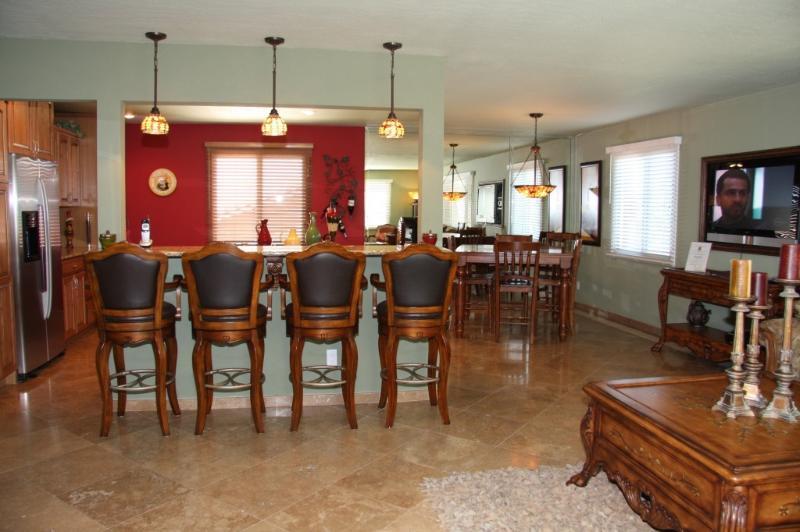 Bar Kitchen & Dining Area      ( Main Floor)