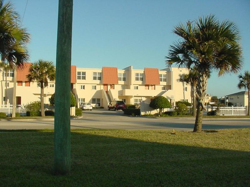 View of our complex from A1A Beach Boulevard