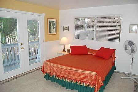 Rosemary bedroom has queen bed