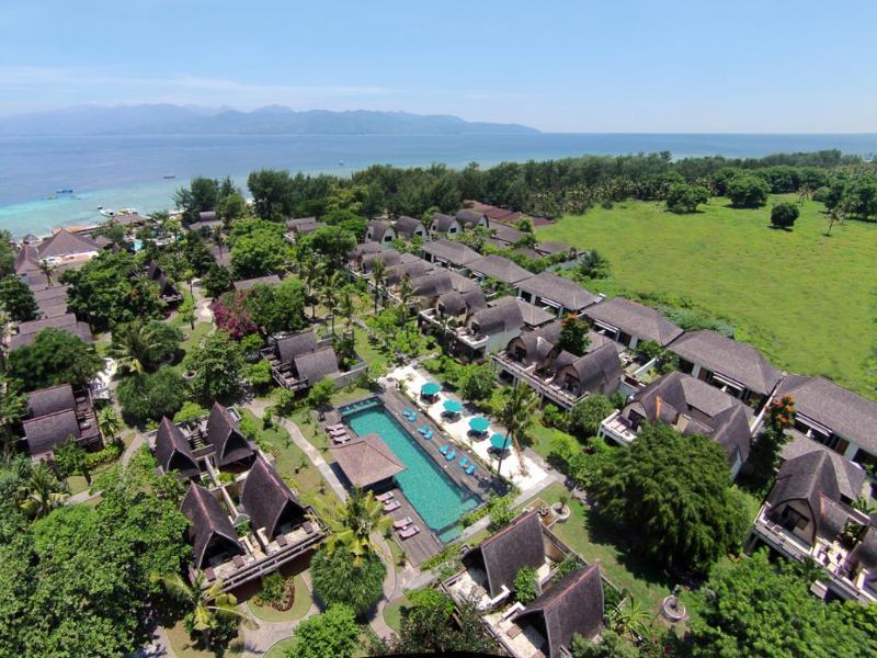 Este es un escape perfecto de la isla, con jardines tropicales y habitaciones cuidadosamente diseñadas que inspiran