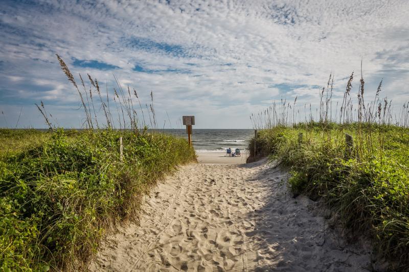 Beautiful Oak Island beach