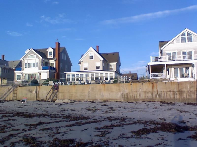 Classic Maine Beach house on a private sandy beach