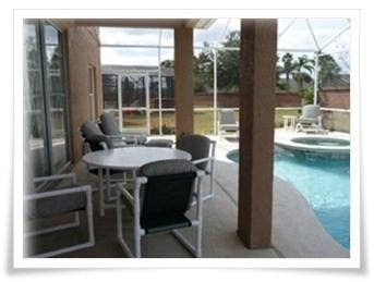 \'The pool and hot tub area\'