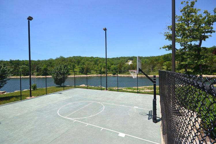 Basketball, Pool, Great Playground...all just a few steps from the lodge.