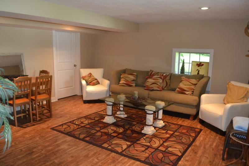Spacious Lower Level Rec Room ~