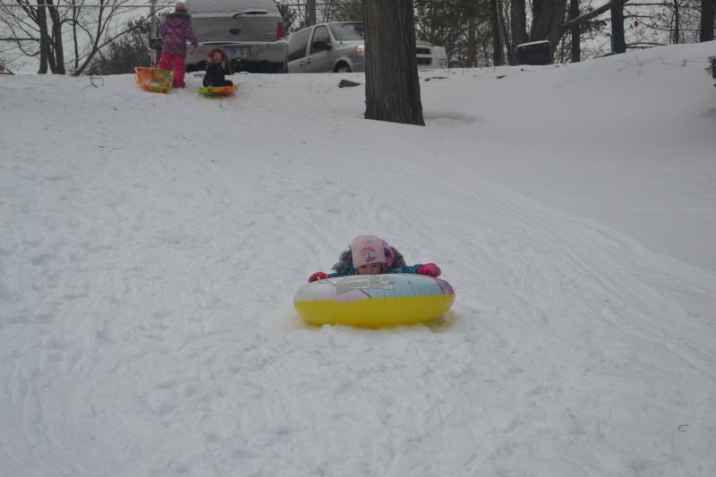 Nice little sliding hill for the kiddo\\\\\\\'s ~