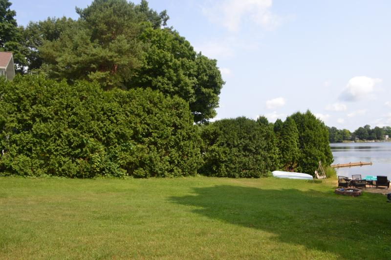 Nice Private Lot.  Both sides of Lot are lined with Privacy tree's ~