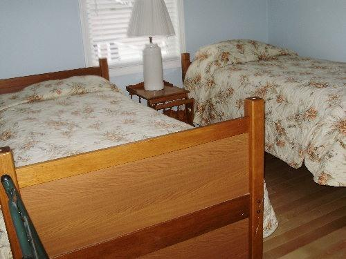 BEDROOM #3, 2 TWIN BEDS