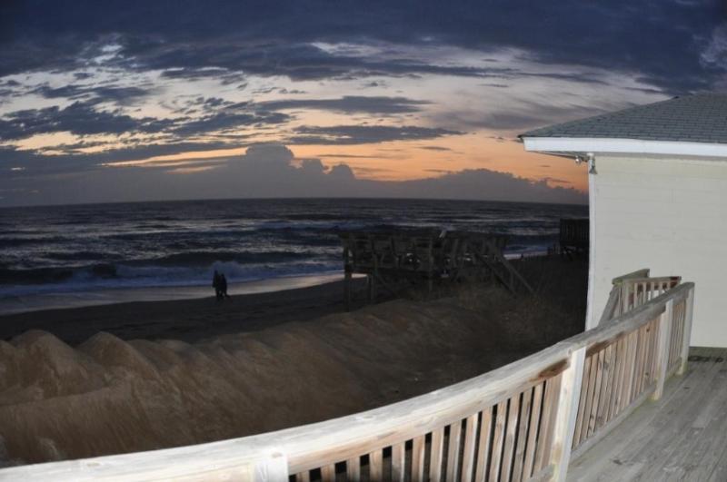 Gorgeous Sunrise Off Oceanfront Deck