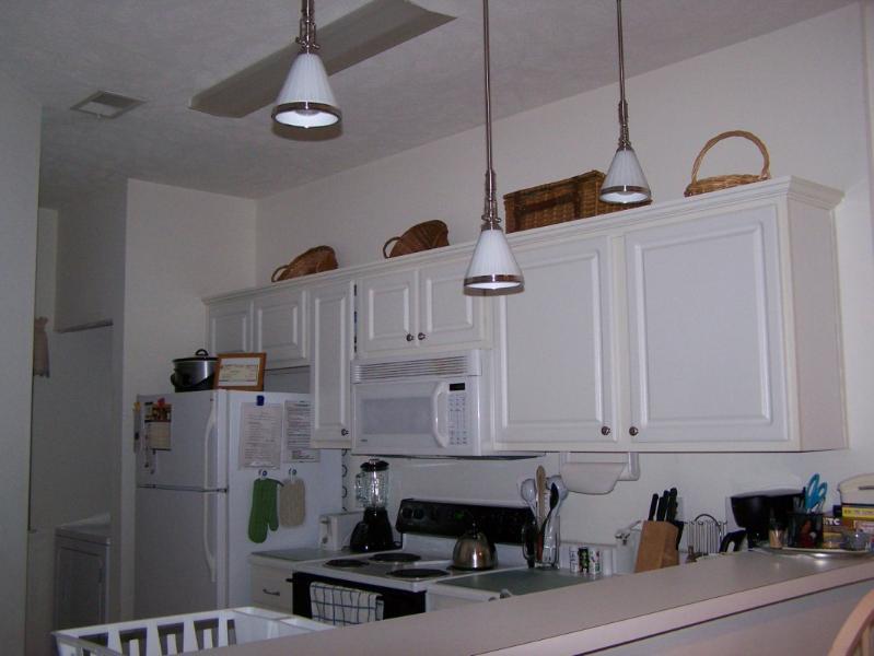 fully stocks kitchen