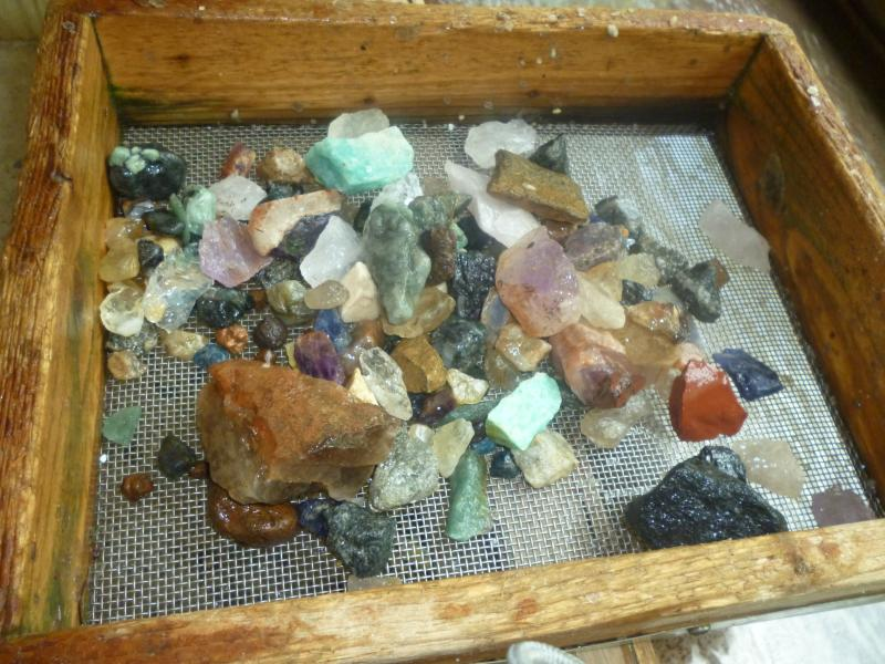 Gem mining about 30 minute drive