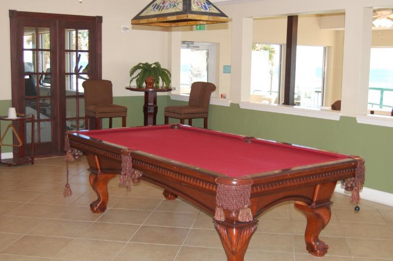 Pool Table in Lobby