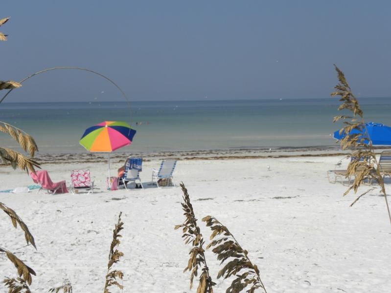White sands of Crescent Beach!
