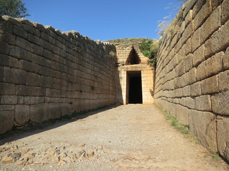 Tomb of Agamemnonin Mycenea
