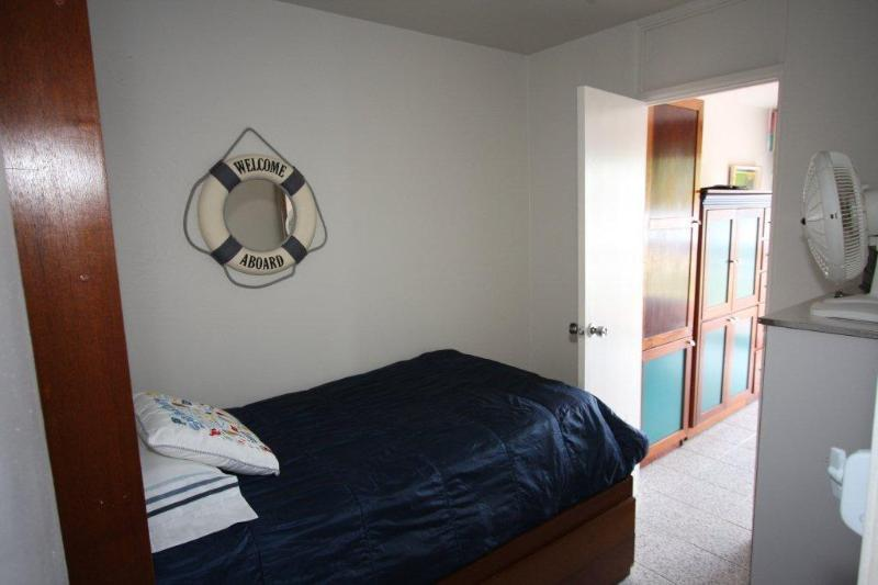 Third bedroom...twin size bed...accessible through master bedroom or corridor.