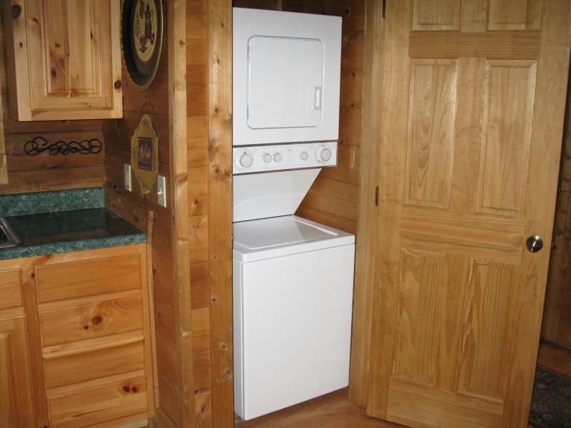 Washer/Dryer Combo in Kitchen area