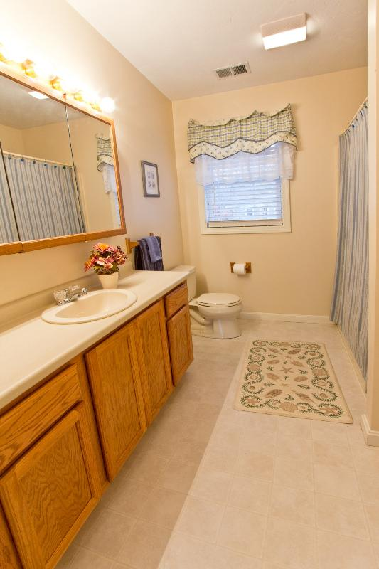 Full Upstairs Bath With Tub-Shower And Linen Closet