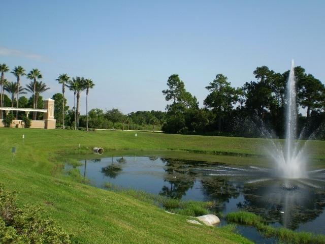 Resort fountain