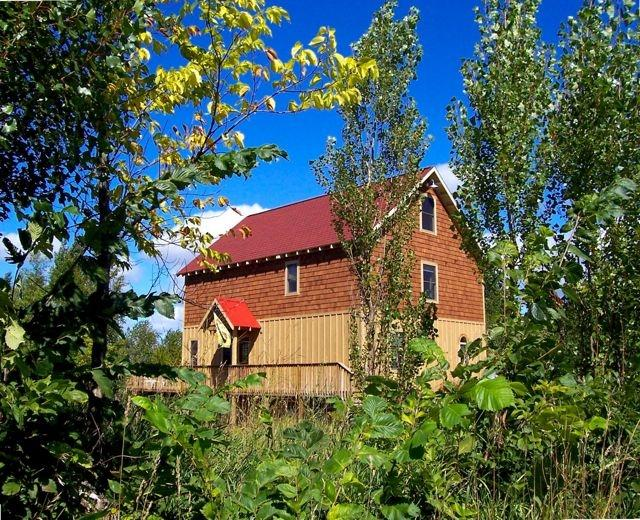 The Barn Cottage - over 2 acres of privacy.