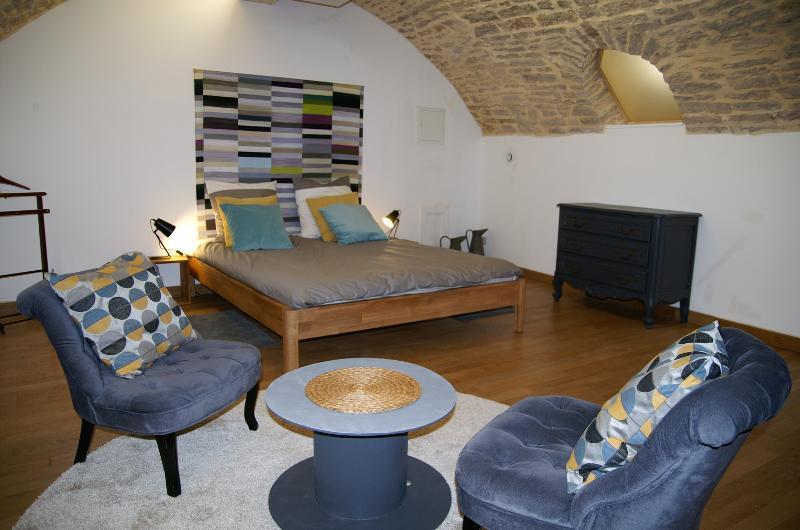 Les Cordeliers / Duplex inversé 85 m², vacation rental in Chenove