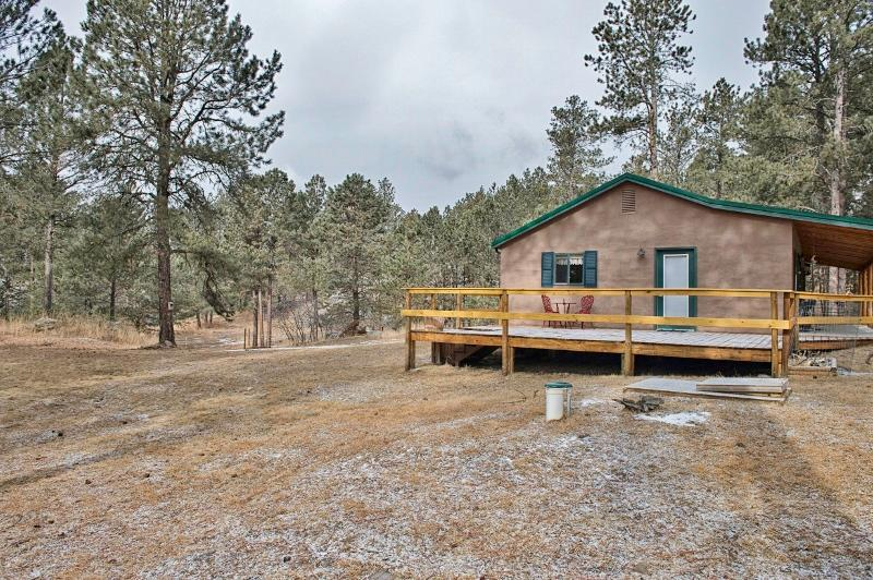 This remote Custer vacation rental home is the ultimate home base for Black Hills adventures!