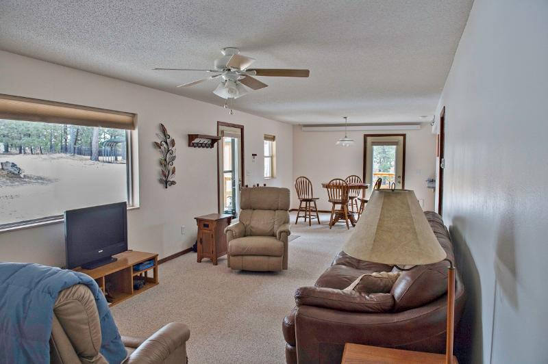 Look forward to relaxing in the spacious living room.