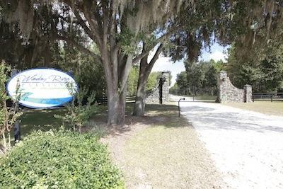 Winding River Preserve Main Gate