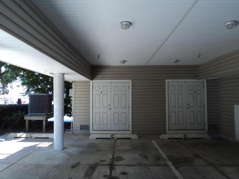 Exterior Parking for 2 cars and private storage unit
