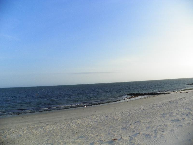 Vista Mar praia no inverno