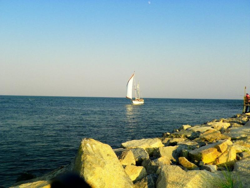 Boating é divertido em Cape Cod!