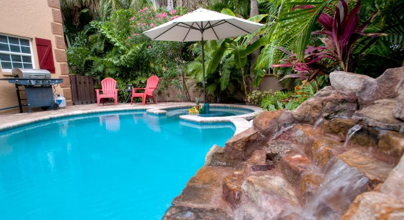 Welcome to your own tropical island paradise!