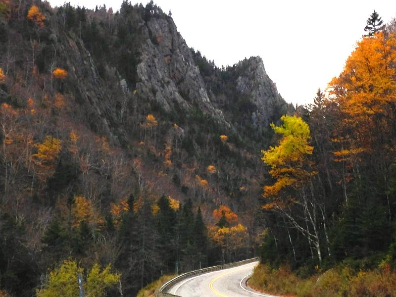 The scenic drive through Dixville Notch
