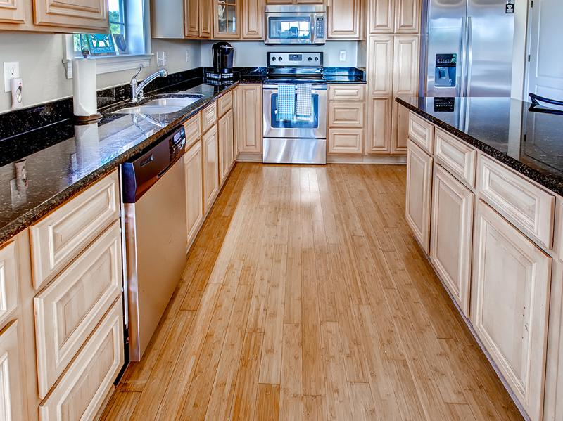 This fully equipped kitchen has everything you need to cook a delicious meal.