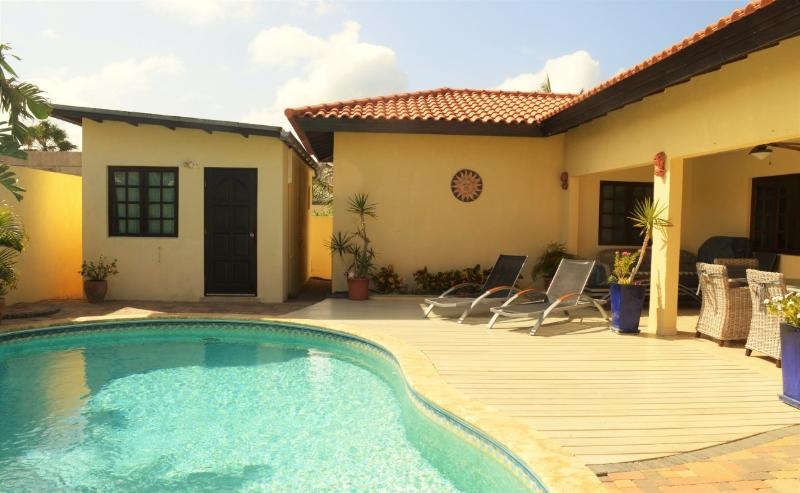 Relax at your private pool!