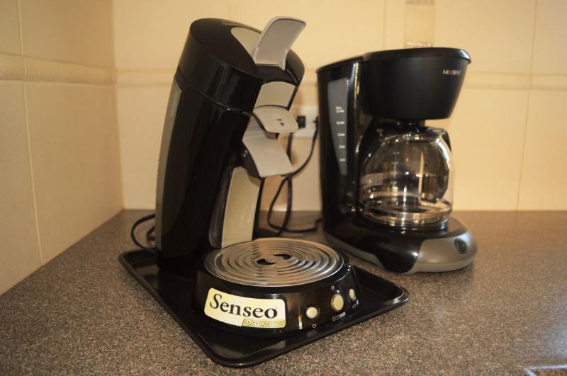 senseo and regular coffee machine