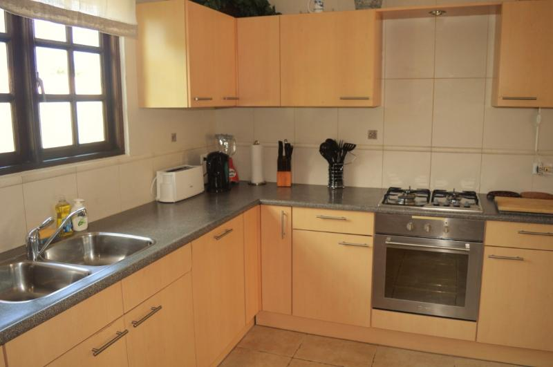 Fully equipped European kitchen